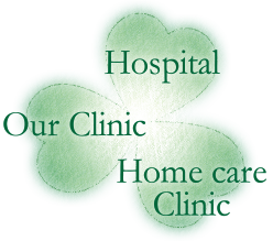 Hospitals, our clinic and home care clinics